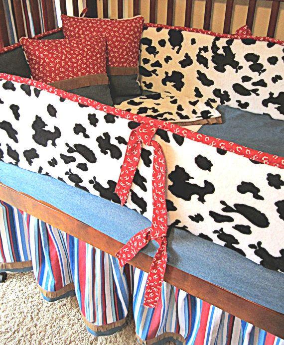 Cowboy Crib Bedding