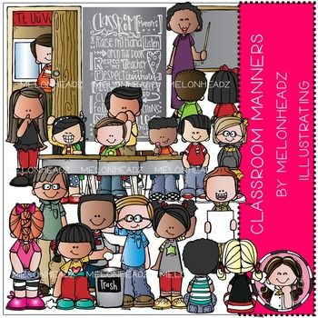 Classroom Manners by Melonheadz COMBO PACK