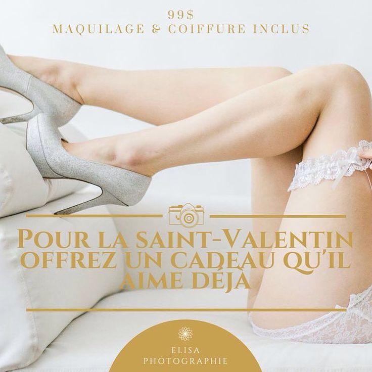 Pour la Saint-Valentin offrez lui un cadeau qu'il aime déjà. Plus d'info sur notre site web ! Voir profil #saintvalentin #boudoir #cadeau by ely_photo1