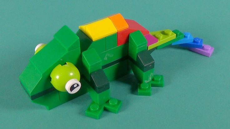 """Lego Chameleon Building Instructions - Lego Classic 10697 """"How To"""""""