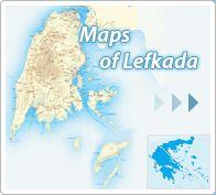 Kaarten van Lefkada
