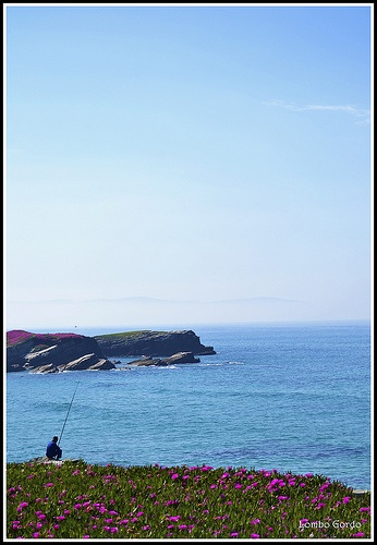 Pescador en stand bye - Fisherman on stand bye