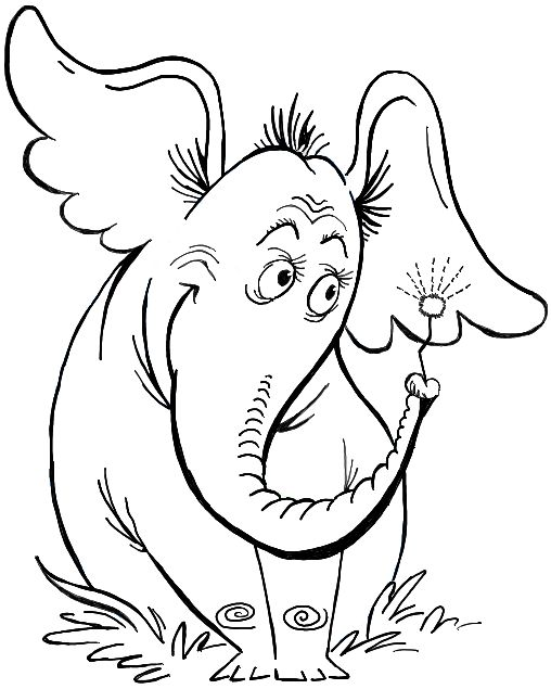 """Today I will show you how to draw Horton, the elephant from Dr. Seuss's book """"Horton Hears a Who!"""". This is the book version, not the movie version. The simple step by step guide will show you easily how to draw Horton the elephant."""
