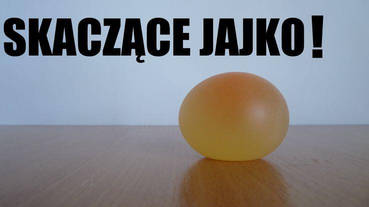 Jak zrobić gumowe jajko? Eksperymenty w domu ( proste doświadczenia fizy...