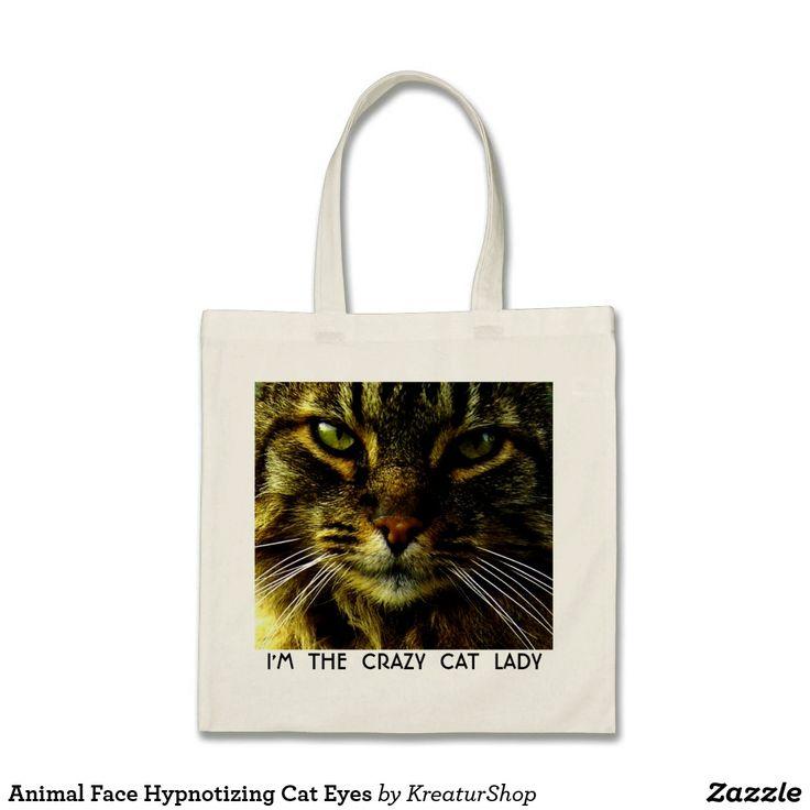 Animal Face Hypnotizing Cat Eyes