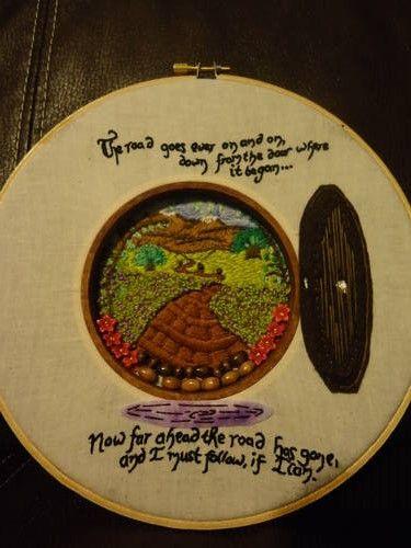 Through the Hobbit Hole - NEEDLEWORK Craftster,org
