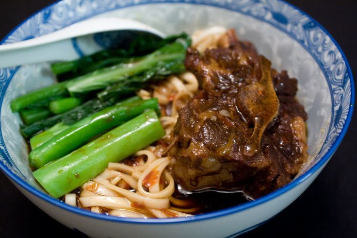 images of chinese oxtail beef stew | To Begin: Oxtail Noodle Soup