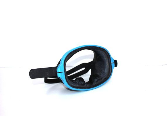 Soviet diving mask Vintage scuba diving mask Vintage