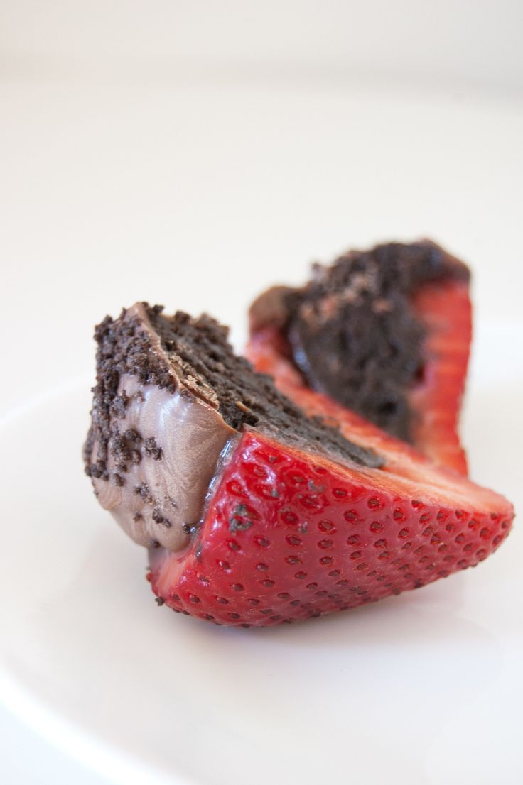 It's hard to believe chocolate-covered strawberries could get any more decadent, but when they have a Double Stuf Oreo center, they're so good it doesn't even make sense.