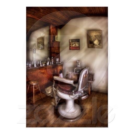Barber Shop La Quinta : Barber - In The Barber Shop Poster