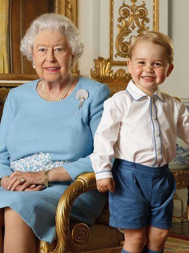 ジョージ王子が女王につけたニックネーム「ガンガン」には隠された秘密があった!