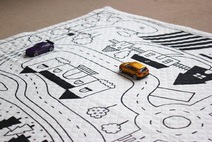 17 meilleures id es propos de tapis circuit sur pinterest circuit enfant - Tapis circuit enfant ...