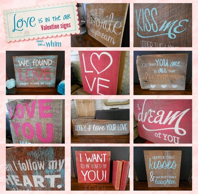 Love Is in the Air Valentine Signs: My Favorite Daydream