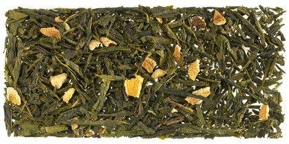 GingTea, la raíz del ginseng es el ingrediente aromatizante de este Té Verde.