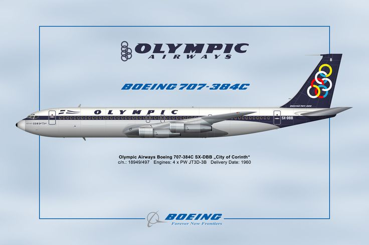 Olympic Airways B 707-384C (City of Corinth) [SX-DBB]-