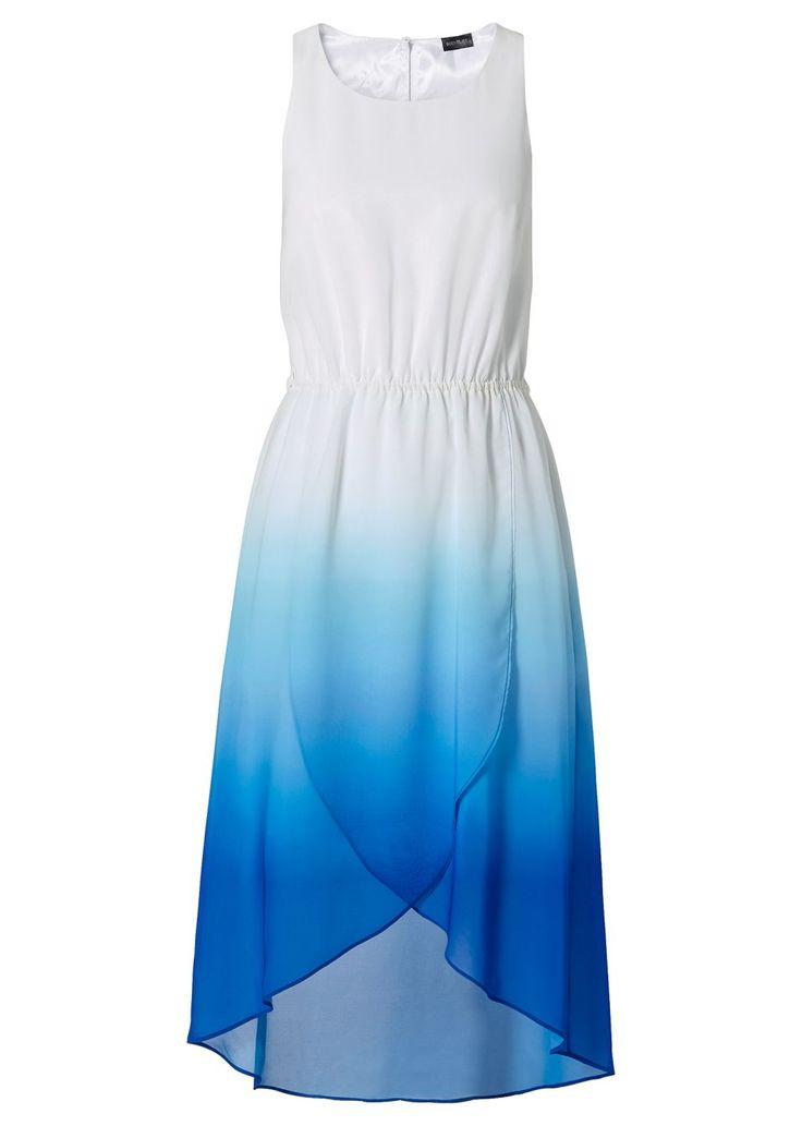 Een luchtig, zomers jurkje met doorlopende kleuren.
