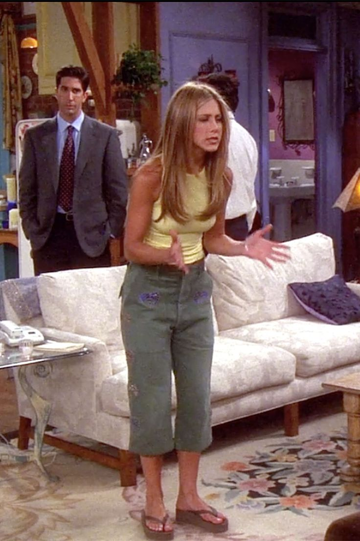 34 Rachel Green Fashion Moments You Forgot You Were Obsessed With On Friends Rachel Green Style Rachel Green Outfits Rachel Green Friends [ 1104 x 736 Pixel ]
