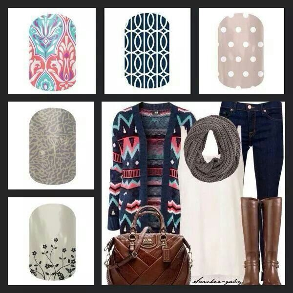 Jamberry Fall/Winter 2014! Get them now, BUY 3, get 1 FREE! at http://sarahpinkgibson.jamberrynails.net