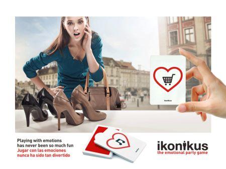 Ikonikus: Shopping / De Compras... Jugar con las emociones nunca ha sido tan divertido Playing with emotions has never been so much fun  BrainPicnic.com Ikonikus.com