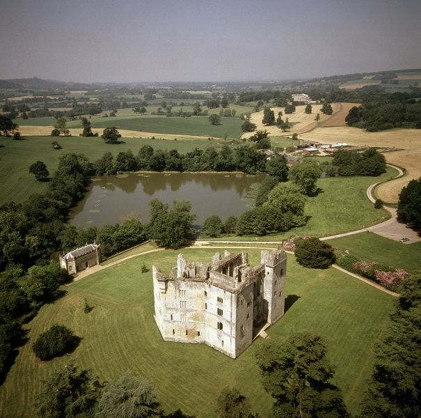 Old Wardour Castle. Link to website. 14th century castle still surprisingly in tact. Can go 3 storeys up. About 30min away