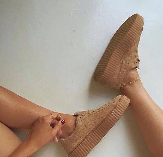 Quit it with the cheap anklets and nail polish near those gorgeous creepers
