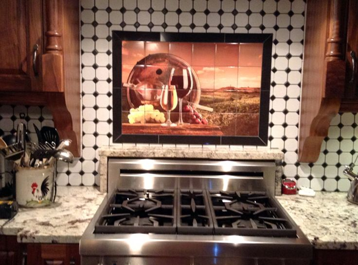 11 best custom ceramic tile backsplash images on Pinterest | Ceramic ...