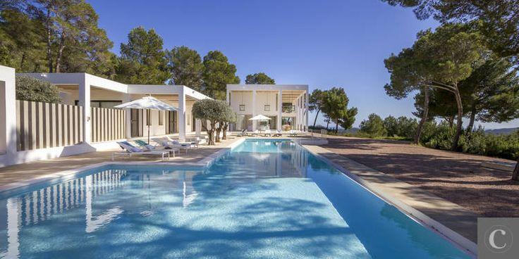 Location de villa de luxe à Ibiza, Espagne