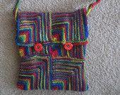 Mitred squares bag