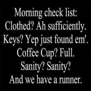 And we have a runner. Haha yes and my wallet...never can find that thing.