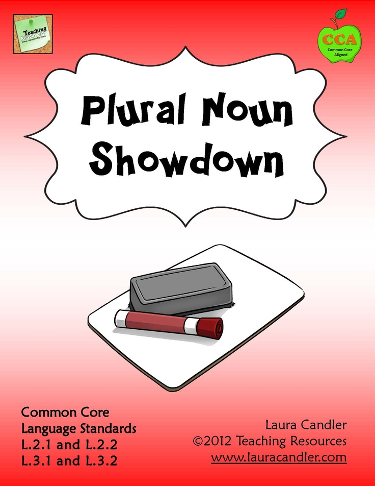 Plural Noun Showdown by Laura Candler - Fun review game for practicing regular and irregular plural nouns. Includes review lessons and quizzes. Aligned with Common Core Language Standards Aligned with CC Language Standards L.2.1, L.2.2, L.3.1, L.3.2 and can also be used for review in grades 4 and 5 $