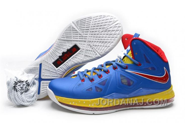 best sneakers 314d2 a3484 854-215658 Nike LeBron 10 X DMP Limited Edition Purple Red Yellow