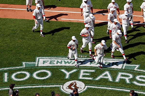 Fenway Park's 100th anniversary team: Where do you put Ted Willams? - #Boston