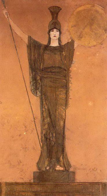 .:. Γύζης Νικόλαος – Gyzis Nikolaos [1842-1901] Παλλάς Αθηνά