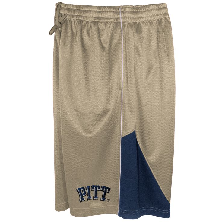 NCAA Men's University Of Pittsburgh Panthers Basketball Shorts, Size: Large