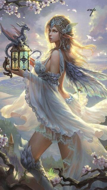 Fantasy lady