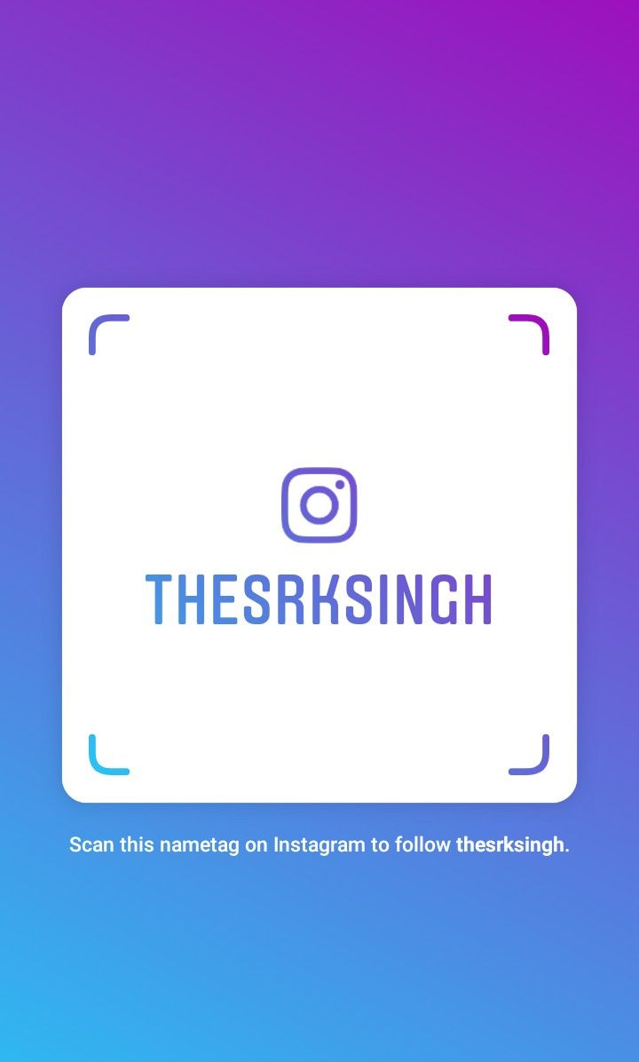 Pin By Shriram On Insta Instagram Name Tags Follow Me On