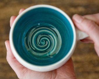 Robins Egg Blue-Teal-Turquoise-Ceramic Mug