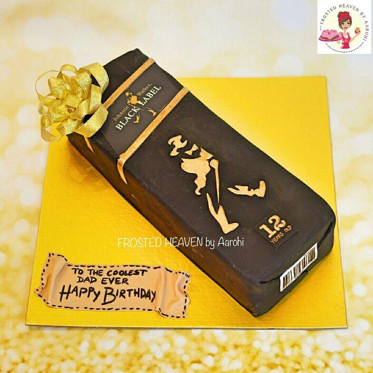 Johnnie Walker Cake Ideas