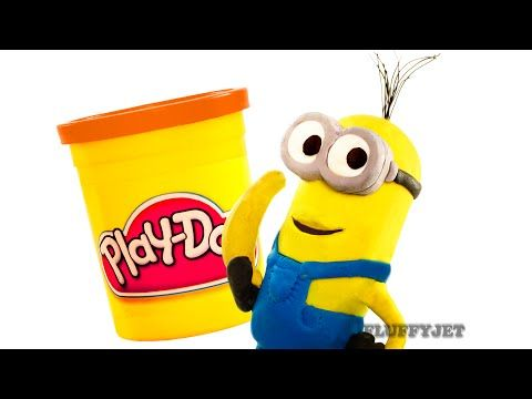 Minion Kevin vs Spiderman Play Doh Fun Marvel Egg Surprise Toys Minions SuperHero Battle Stop Motion  #kevin #marvel #minion
