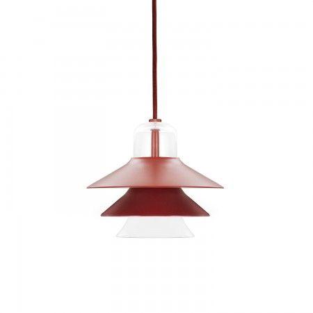 Ikono hanglamp Normann Copenhagen klein rood   Musthaves verzendt gratis