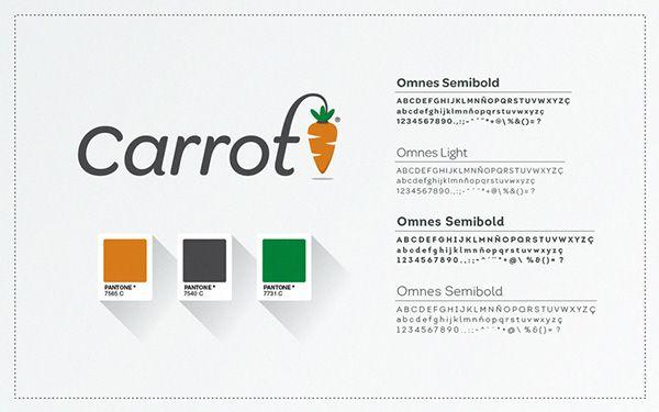 Carrot App • Logo on Behance