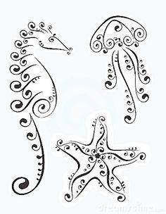 Inspiration /Nautical doodles