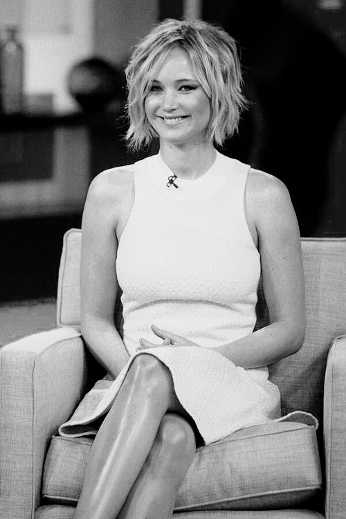 Jennifer Lawrence on Good Morning America 2014