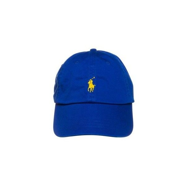 Polo Ralph Lauren CLASSIC ❤ liked on Polyvore featuring accessories, hats, cap hats, polo ralph lauren, yellow cap, yellow hat and polo ralph lauren hats