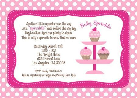 creating unique sprinkle baby shower invitation cards