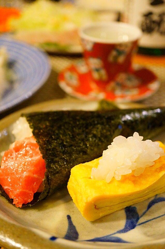 ちぃさん's dish photo 手巻き寿司 | http://snapdish.co #SnapDish #すしの日(11月1日) #晩ご飯 #お寿司