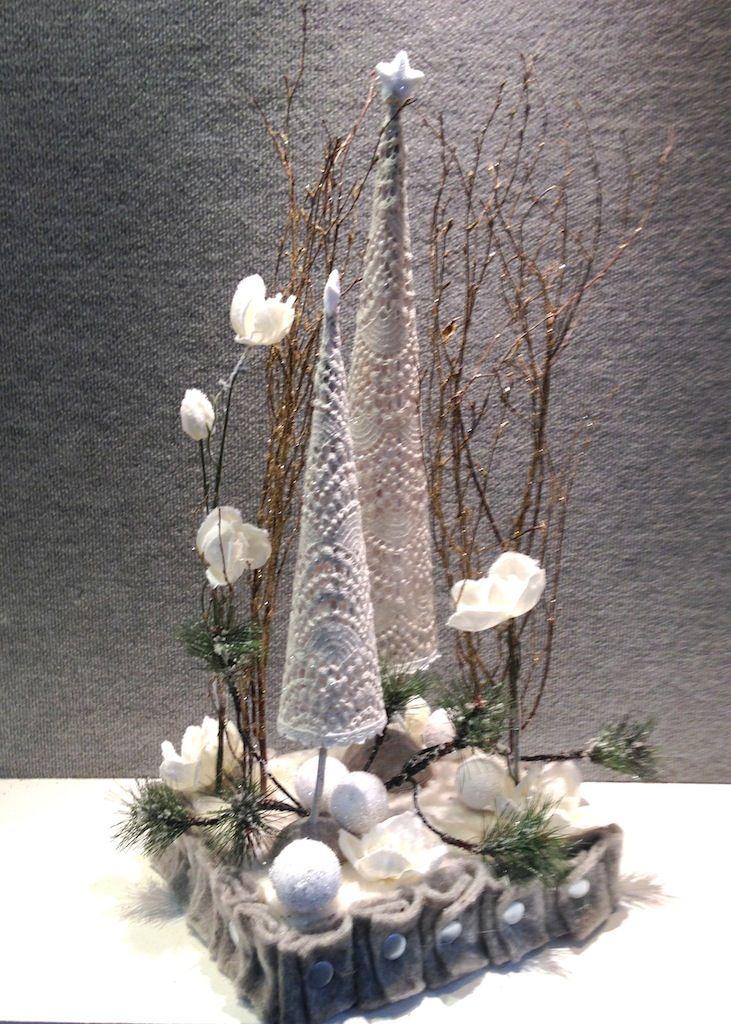 A Winters garden Design www.designelementflowers.com