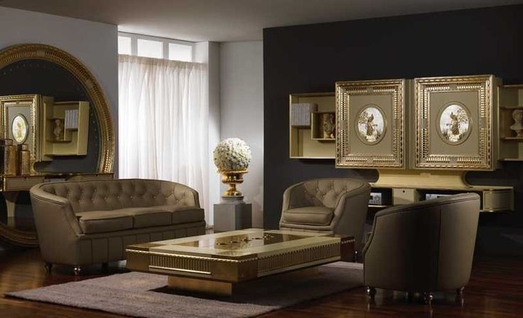 #vismaradesign Sliding home cinema art deco is a mothorized tv stand with 2 sliding doors which hide up to 75 inches televisions. #luxury #artdeco #madeinitaly #slidingtvstand #livingroom
