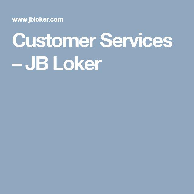 Customer Services – JB Loker