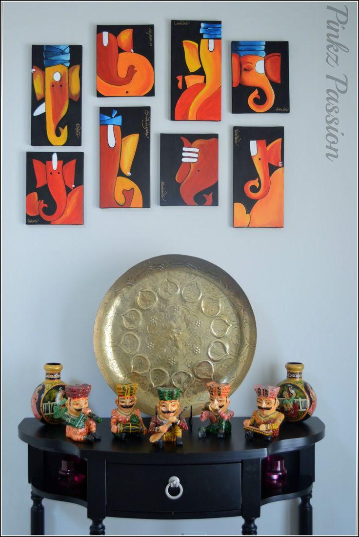 Holi décor, Indian festival décor, Indian inspired décor, Ethnic Indian decor